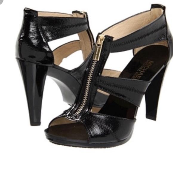 Michael Kors Berkley Leather Heels